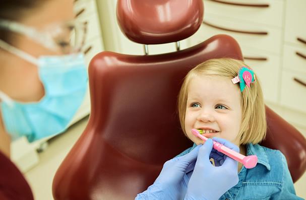 40% of children not seeing a dentist