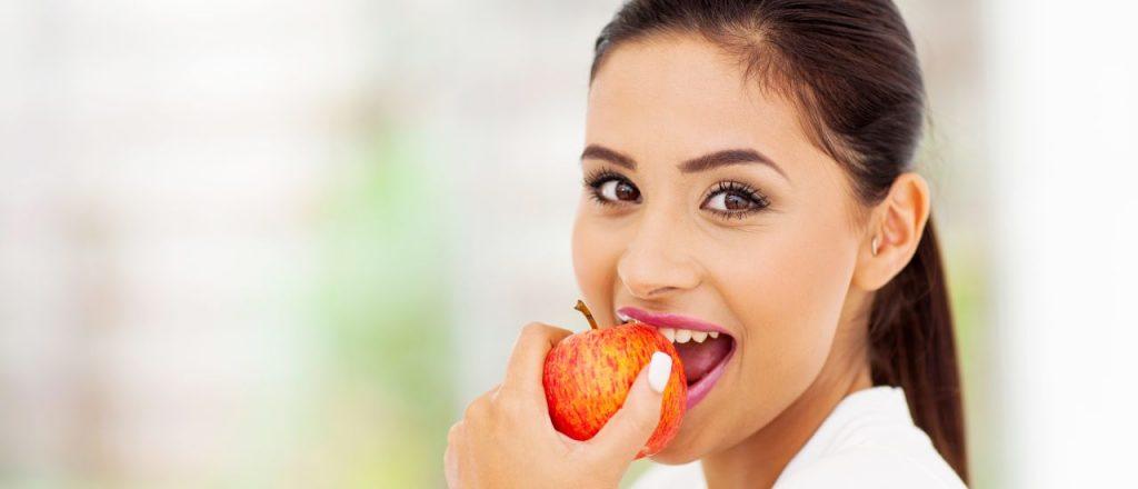 teeth whitening foods
