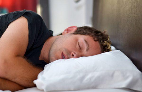 snoring-young-man