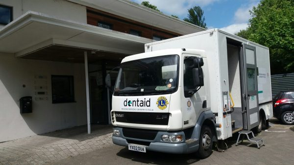 The Mobile Dentaid Unit Provides Care For Vulnerable People