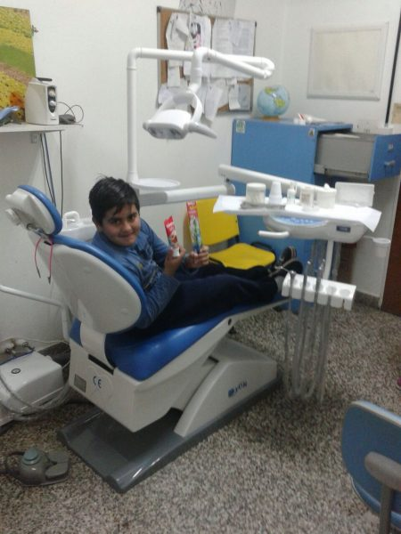 Alpha Omega London Charitable Trust donate a new dental unit