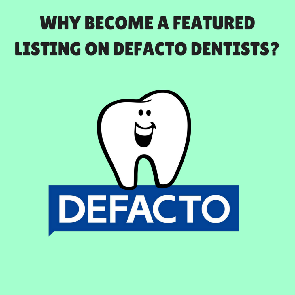 WHY BECOME FEATURED ON DEFACTO?