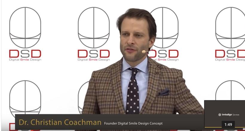 dr christian coachman, DSD, Digital Smile Design, align technology, invisalign, conference