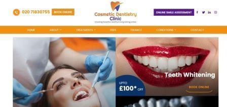 Cosmetic Dentistry Clinic banner