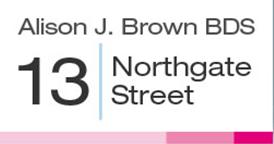 DR ALISON J BROWN BDS 5449 AT 2