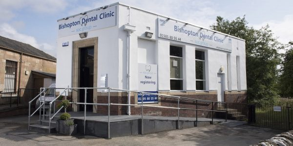 bishopton dental clinic 600x299
